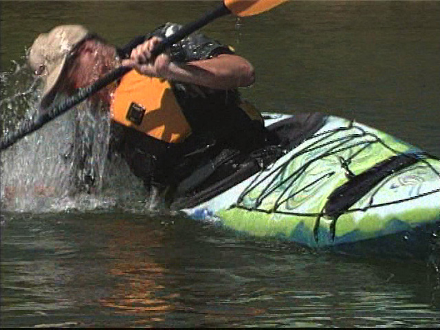 The bombproof roll that instructors prefer for sea kayaks.