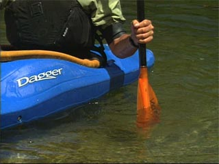 Developing finesse in a kayak