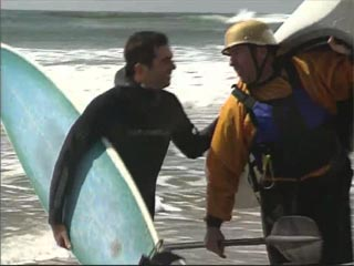 Ediquette rules  between surfers and kayakers
