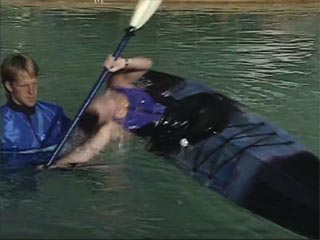 Learn basics of the kayak roll.