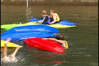 Kids love kayaking the right way!