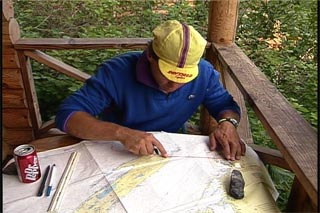 Map work for kayakers