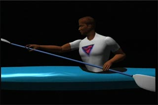 the key to efficient kayaking is torso rotation