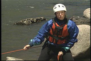 Belay systems for the river