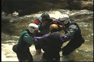 Simple river rescue
